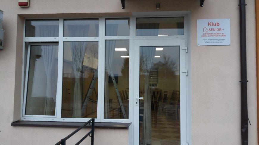Utworzenie i wyposażenie Klubu Senior+ w Łopienniku Górnym