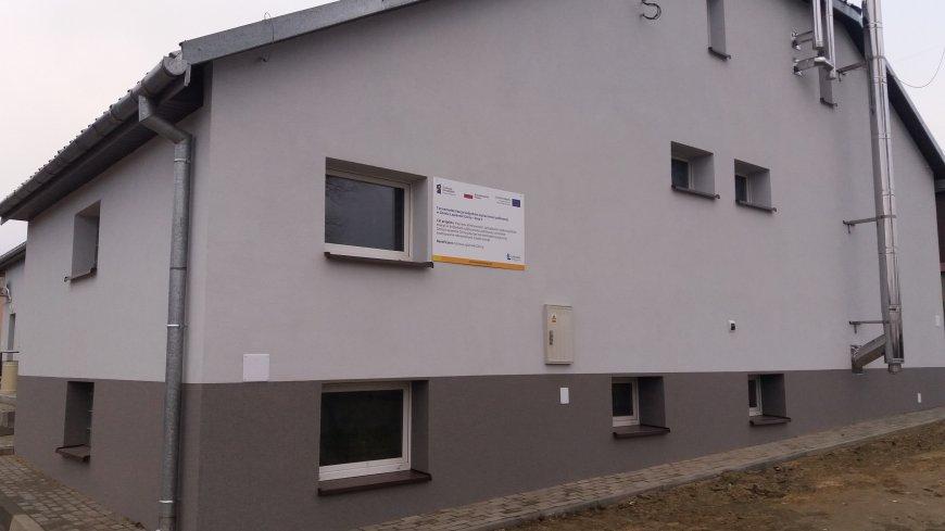 Termomodernizacja budynku świetlicy wiejskiej w Łopienniku Górnym