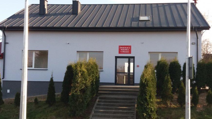 Modernizacja budynku świetlicy wiejskiej w miejscowości Olszanka