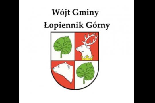 logo gminy z napisami