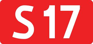 zdjęcie tablicy informacyjnej z napisem S17