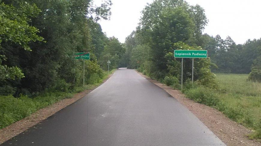 Inwestycje drogowe w ramach Funduszu Dróg Samorządowych